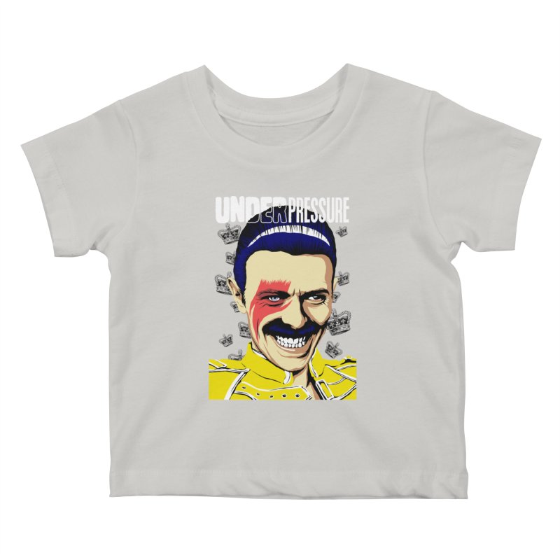 Under Pressure  Kids Baby T-Shirt by butcherbilly's Artist Shop
