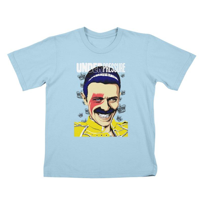 Under Pressure  Kids T-Shirt by butcherbilly's Artist Shop