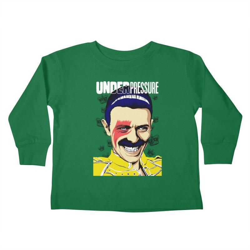 Under Pressure  Kids Toddler Longsleeve T-Shirt by butcherbilly's Artist Shop