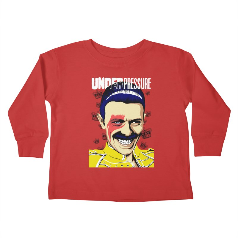 Under Pressure  Kids Toddler Longsleeve T-Shirt by butcherbilly's Artist Shop