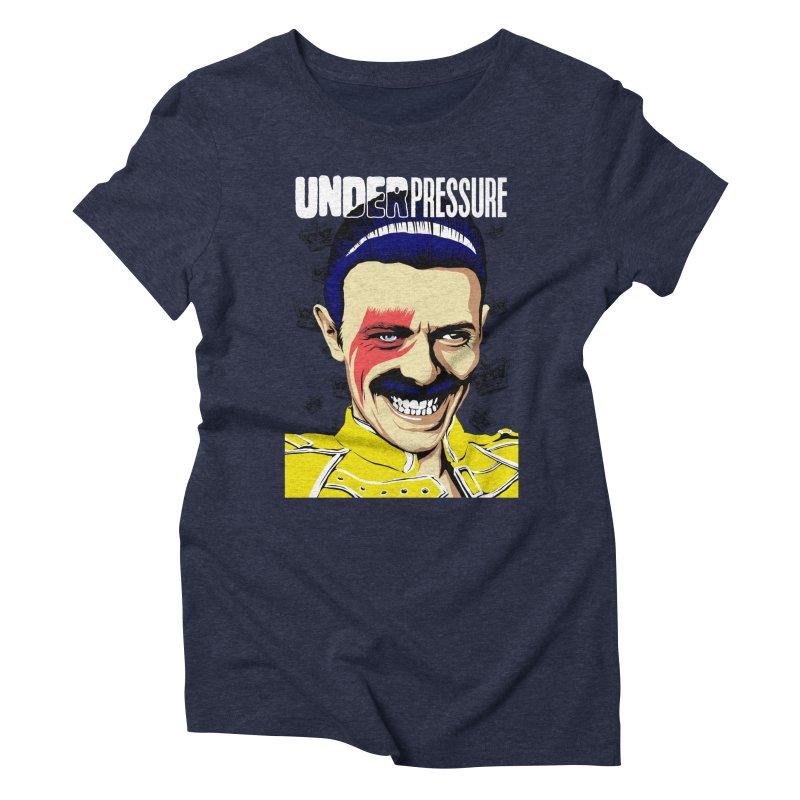 Under Pressure  Women's Triblend T-shirt by butcherbilly's Artist Shop