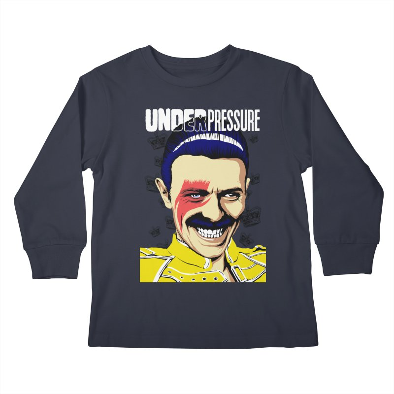 Under Pressure  Kids Longsleeve T-Shirt by butcherbilly's Artist Shop