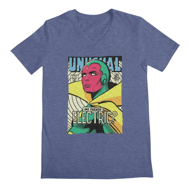 Unusual  Men's V-Neck by butcherbilly's Artist Shop