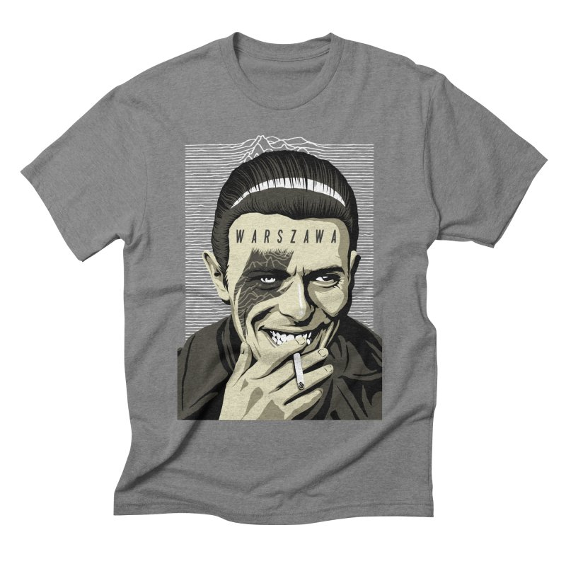 Warszawa Men's Triblend T-shirt by butcherbilly's Artist Shop