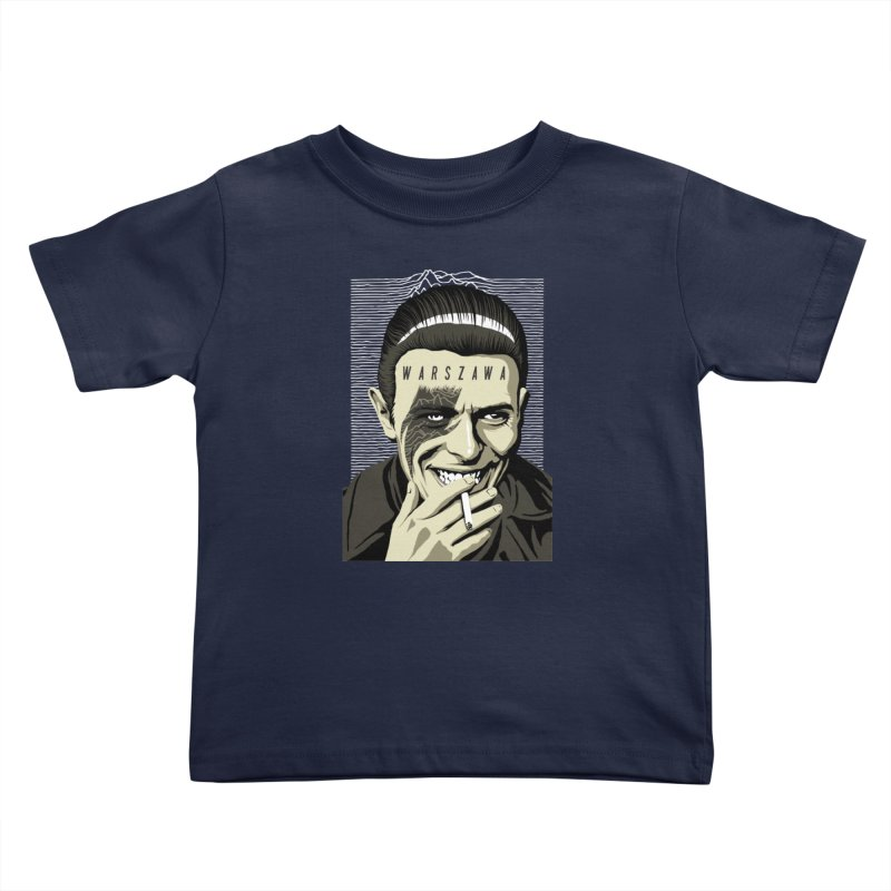 Warszawa Kids Toddler T-Shirt by butcherbilly's Artist Shop