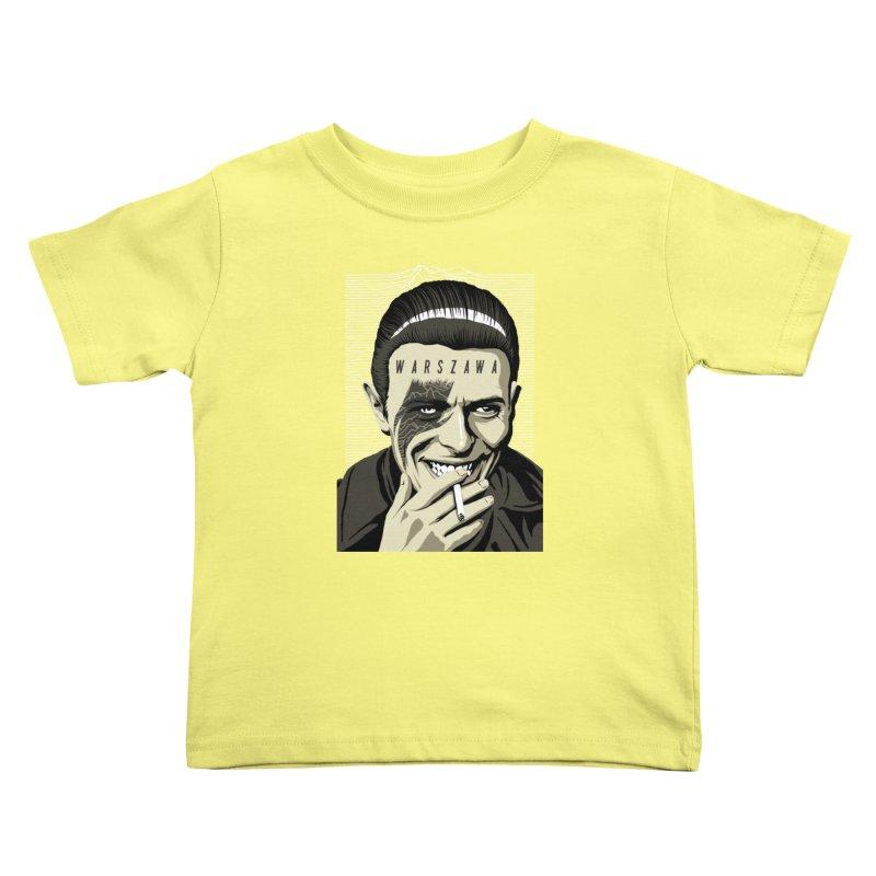 Warszawa Kids Toddler T-Shirt by butcherbilly's Artist Shop