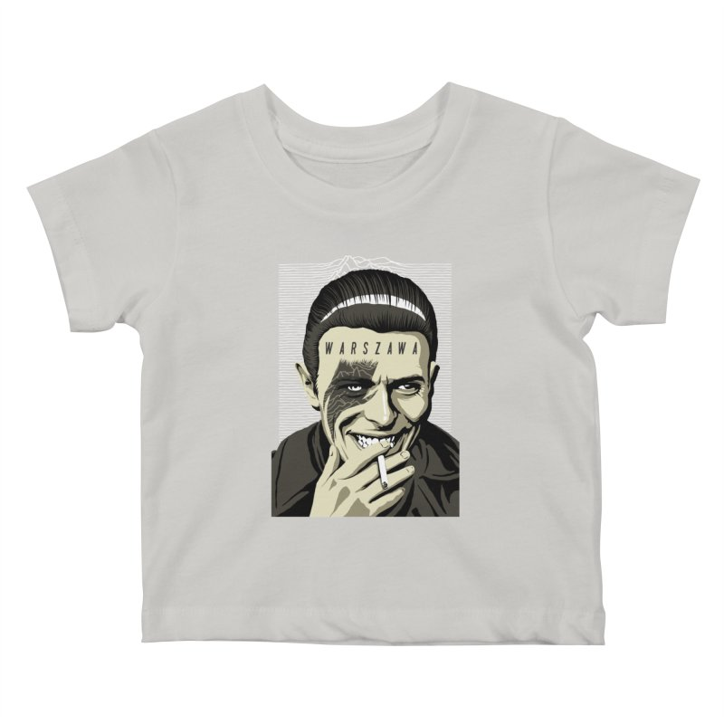 Warszawa Kids Baby T-Shirt by butcherbilly's Artist Shop