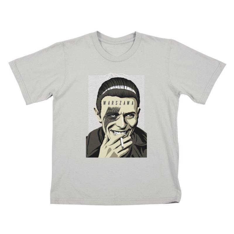 Warszawa Kids T-Shirt by butcherbilly's Artist Shop