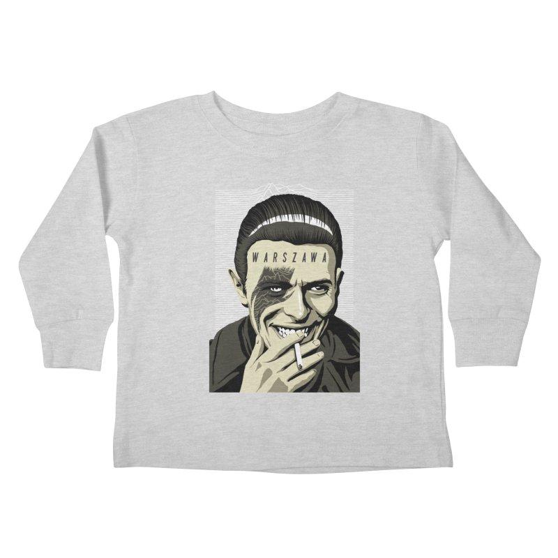 Warszawa Kids Toddler Longsleeve T-Shirt by butcherbilly's Artist Shop