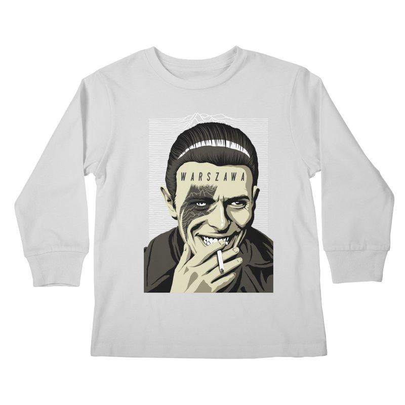 Warszawa Kids Longsleeve T-Shirt by butcherbilly's Artist Shop