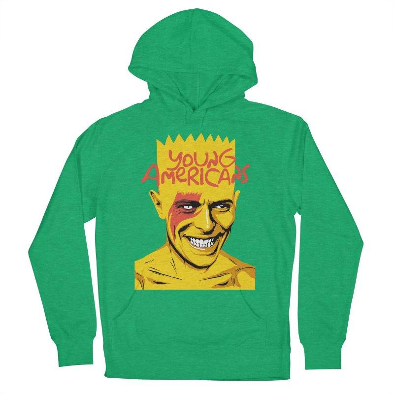 Young Americans  Women's Pullover Hoody by butcherbilly's Artist Shop
