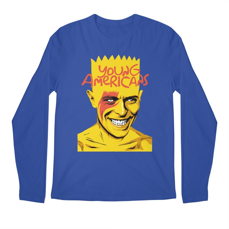 Young Americans  Men's Longsleeve T-Shirt by butcherbilly's Artist Shop