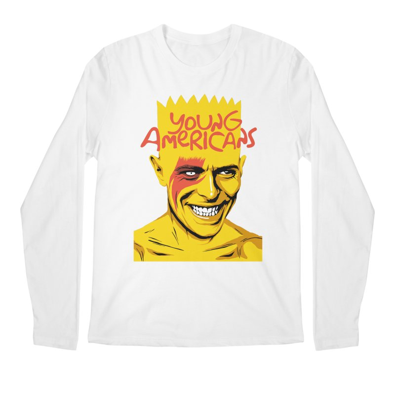 Young Americans  Men's Longsleeve T-Shirt by butcherbilly's Artist Shop