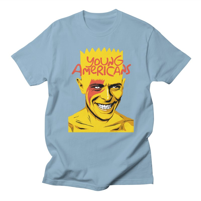 Young Americans  Men's T-shirt by butcherbilly's Artist Shop