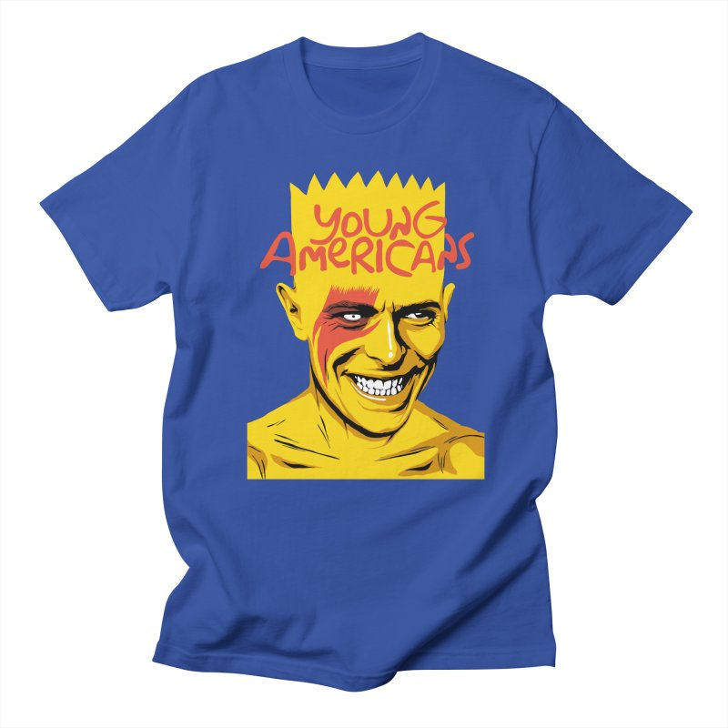 Young Americans  Women's Unisex T-Shirt by butcherbilly's Artist Shop