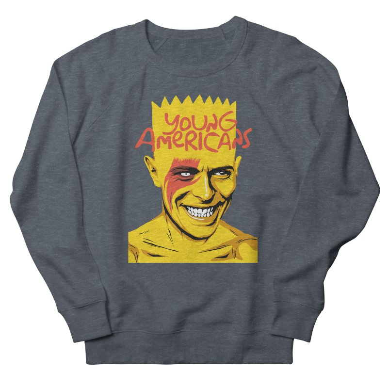 Young Americans  Men's Sweatshirt by butcherbilly's Artist Shop