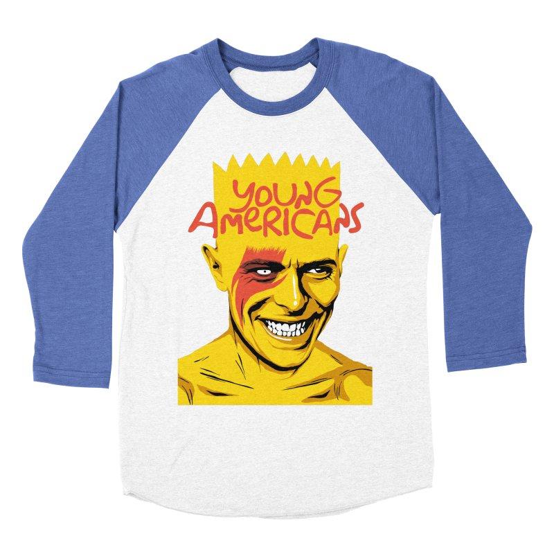 Young Americans  Women's Baseball Triblend T-Shirt by butcherbilly's Artist Shop