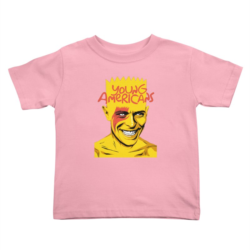 Young Americans  Kids Toddler T-Shirt by butcherbilly's Artist Shop
