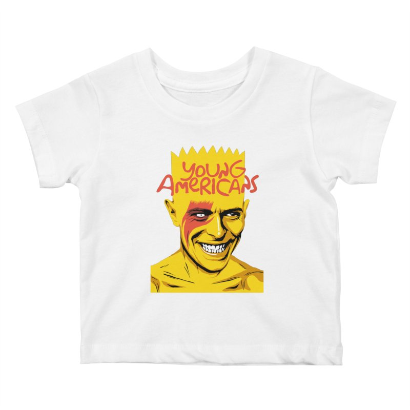 Young Americans  Kids Baby T-Shirt by butcherbilly's Artist Shop