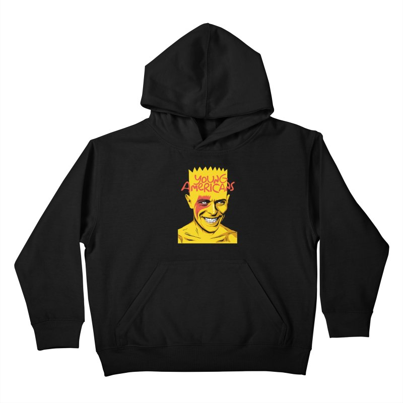 Young Americans  Kids Pullover Hoody by butcherbilly's Artist Shop