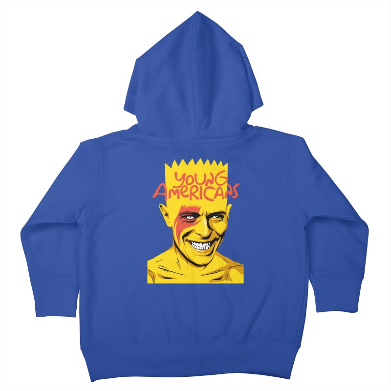 Young Americans  Kids Toddler Zip-Up Hoody by butcherbilly's Artist Shop