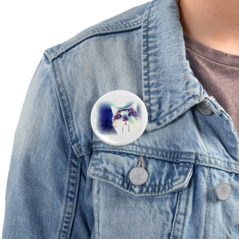 Snow WereBean Accessories Button by Butters The Bean