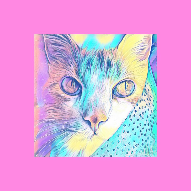 Cat Pastel Accessories Sticker by Butters The Bean