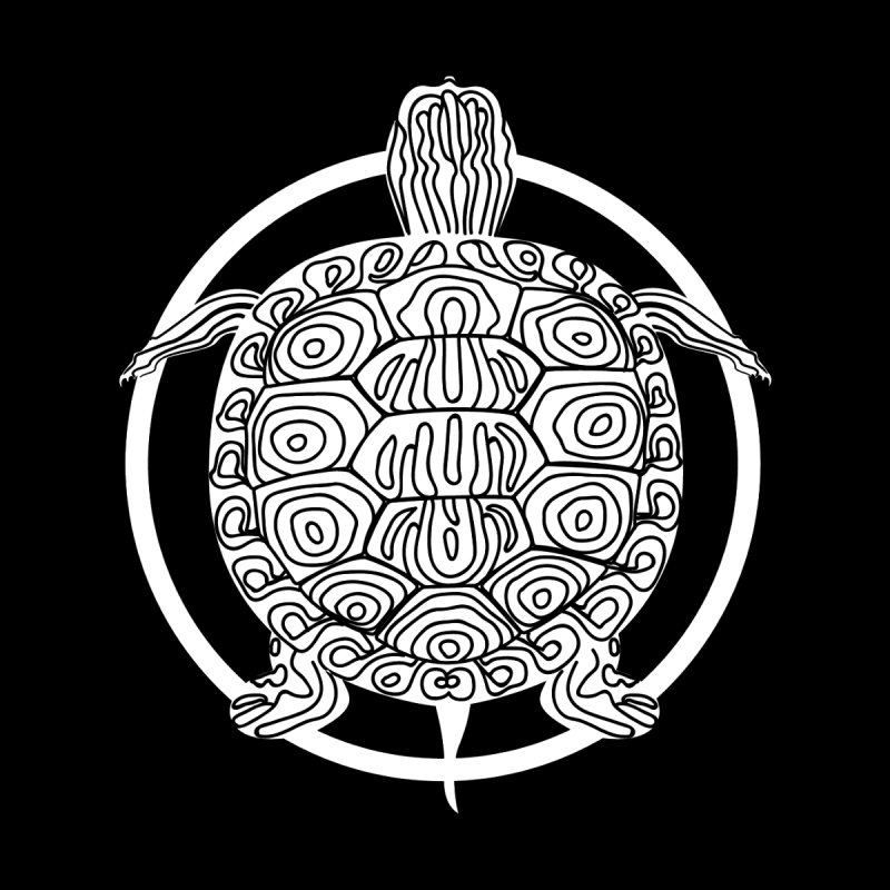 White Turtle - Circle Collection by buxmontweb's Artist Shop
