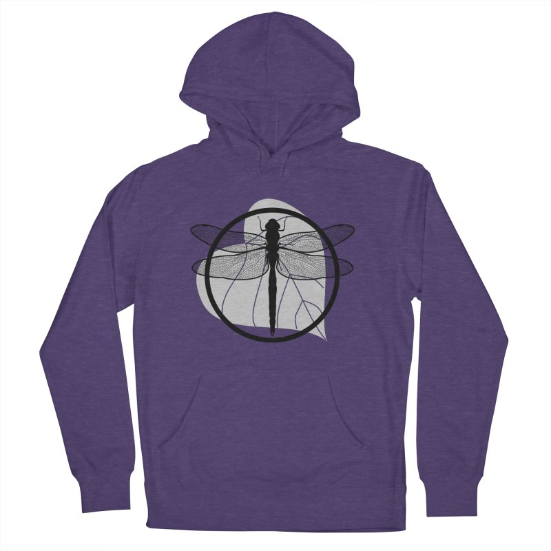 Dragonfly - Circle Collection Women's French Terry Pullover Hoody by buxmontweb's Artist Shop