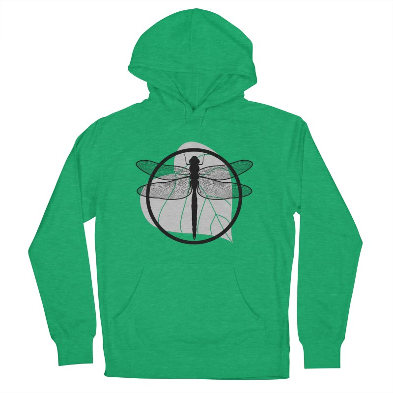 Dragonfly - Circle Collection Men's French Terry Pullover Hoody by buxmontweb's Artist Shop