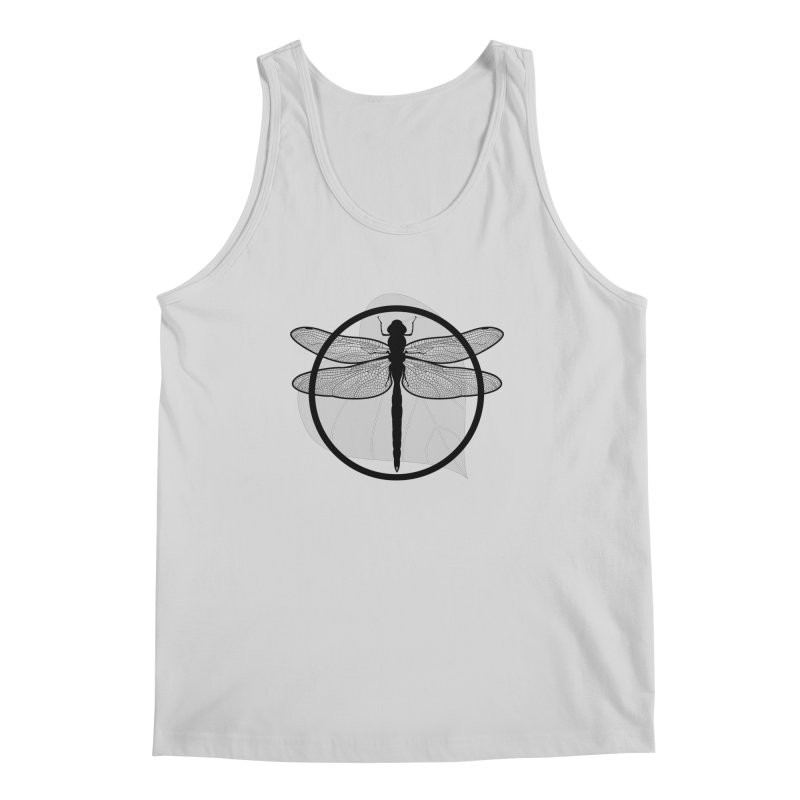 Dragonfly - Circle Collection Men's Regular Tank by buxmontweb's Artist Shop