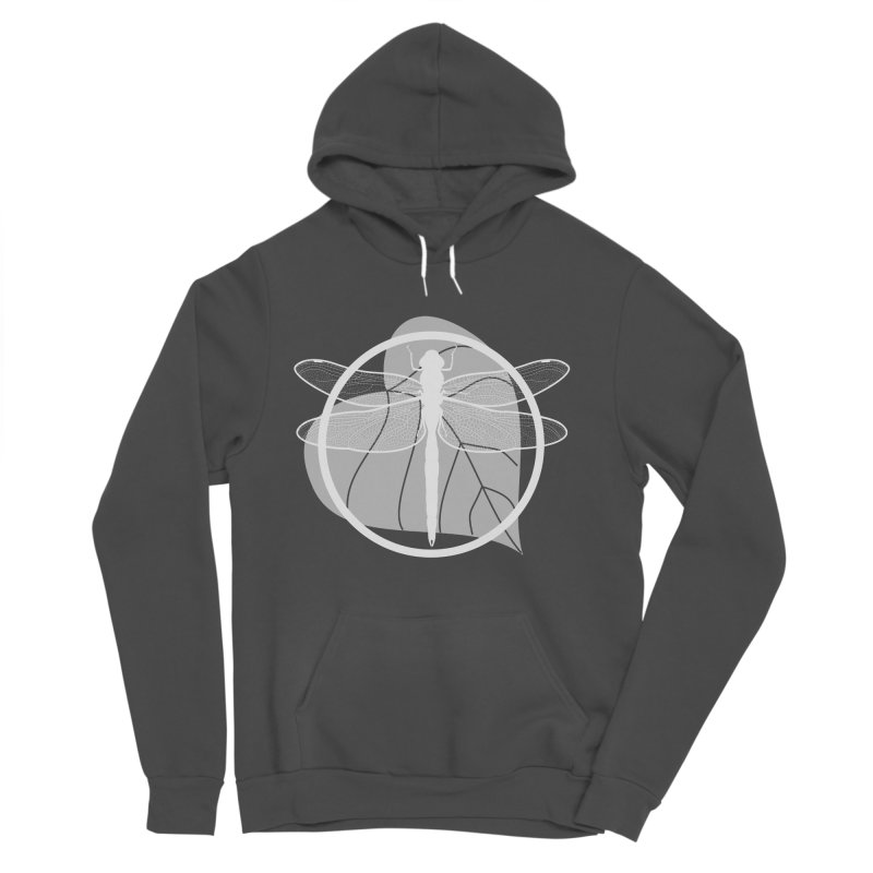 Dragonfly (Light) - Circle Collection Women's Sponge Fleece Pullover Hoody by buxmontweb's Artist Shop