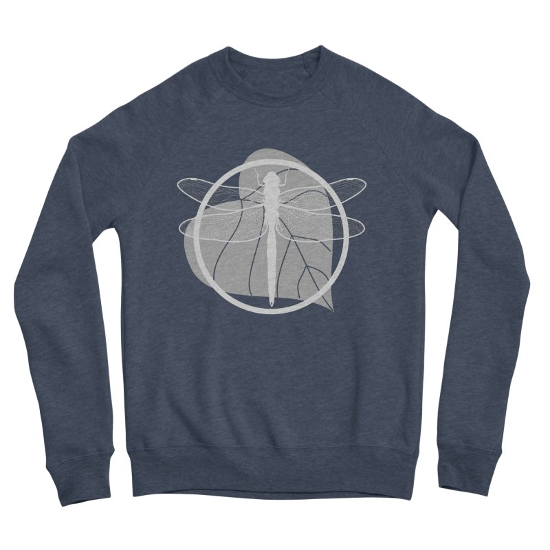 Dragonfly (Light) - Circle Collection Men's Sponge Fleece Sweatshirt by buxmontweb's Artist Shop