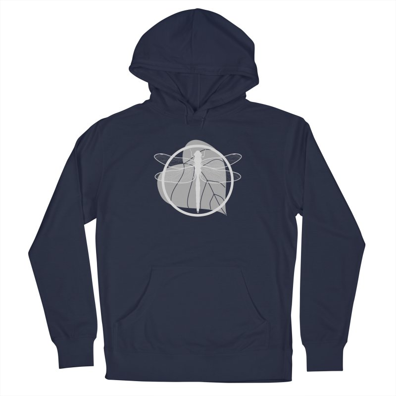 Dragonfly (Light) - Circle Collection Men's Pullover Hoody by buxmontweb's Artist Shop