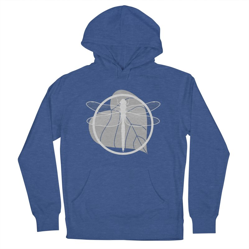 Dragonfly (Light) - Circle Collection Men's French Terry Pullover Hoody by buxmontweb's Artist Shop