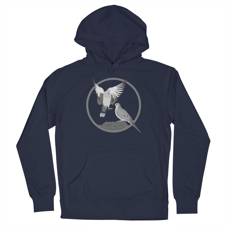 Mourning Doves (Light) - Circle Collection Men's Pullover Hoody by buxmontweb's Artist Shop