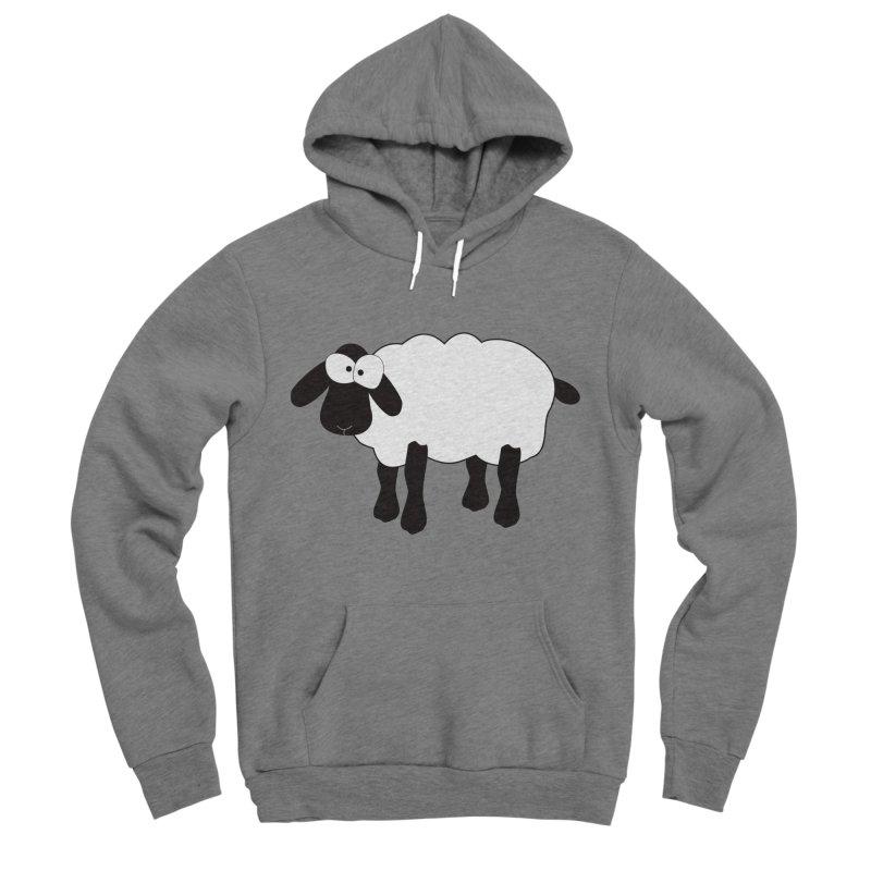 Funny Sheep Women's Sponge Fleece Pullover Hoody by buxmontweb's Artist Shop