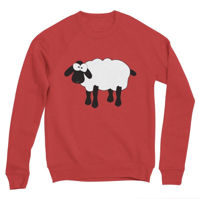 Funny Sheep Women's Sponge Fleece Sweatshirt by buxmontweb's Artist Shop