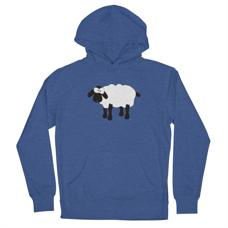 Funny Sheep Men's Pullover Hoody by buxmontweb's Artist Shop