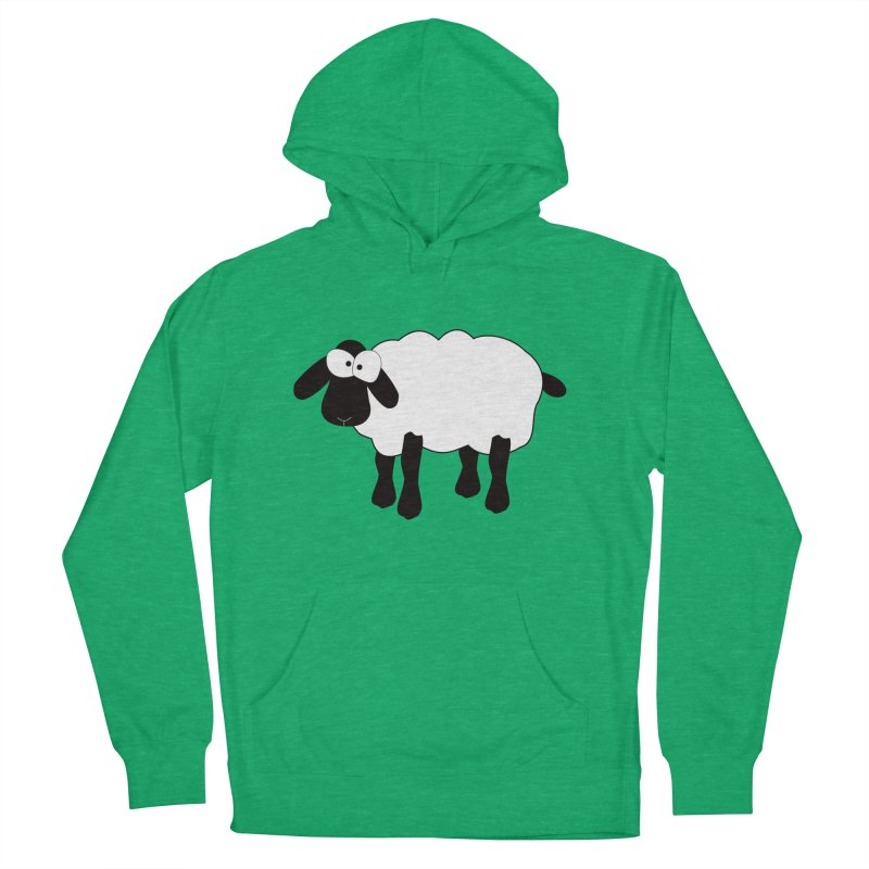 Funny Sheep Women's French Terry Pullover Hoody by buxmontweb's Artist Shop