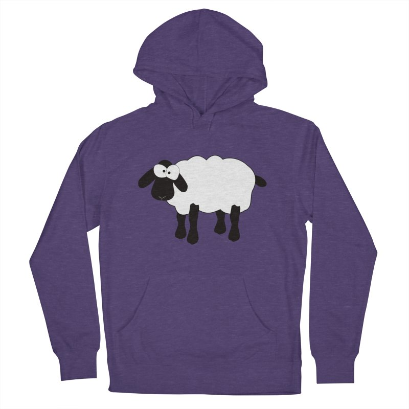 Funny Sheep Men's French Terry Pullover Hoody by buxmontweb's Artist Shop
