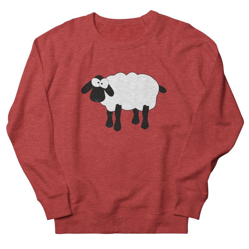Funny Sheep Women's French Terry Sweatshirt by buxmontweb's Artist Shop