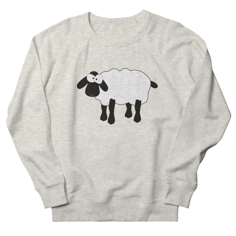 Funny Sheep Men's French Terry Sweatshirt by buxmontweb's Artist Shop