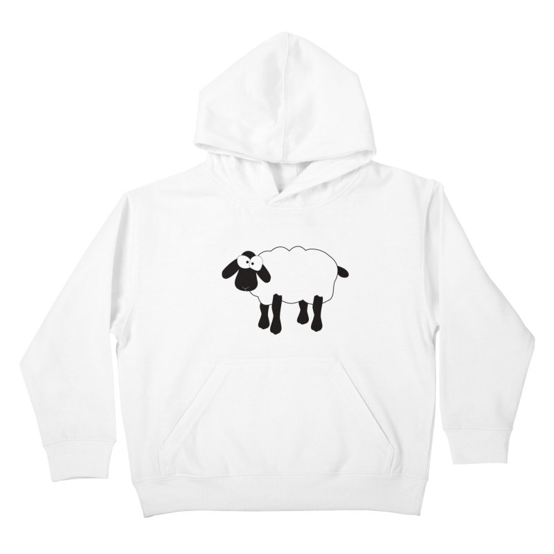 Funny Sheep Kids Pullover Hoody by buxmontweb's Artist Shop