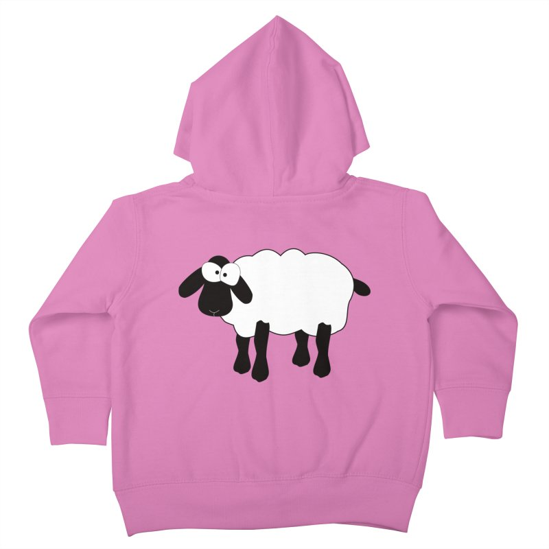 Funny Sheep Kids Toddler Zip-Up Hoody by buxmontweb's Artist Shop