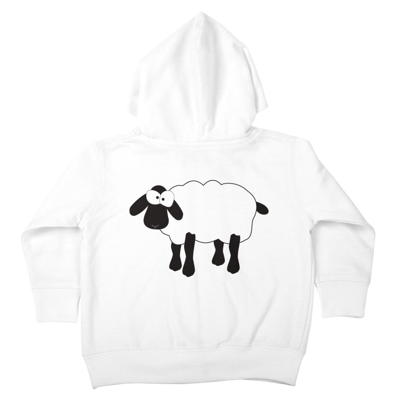 Funny Sheep Kids Toddler Zip-Up Hoody by buxmontweb's Artist Shop