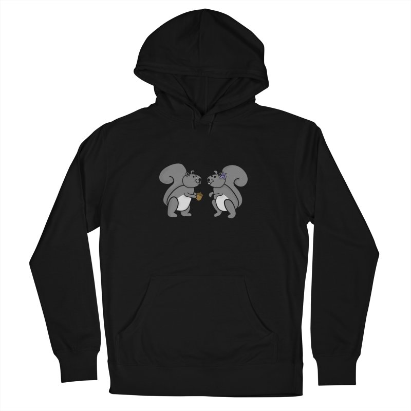 Cute Boy and Girl Squirrels Women's French Terry Pullover Hoody by buxmontweb's Artist Shop