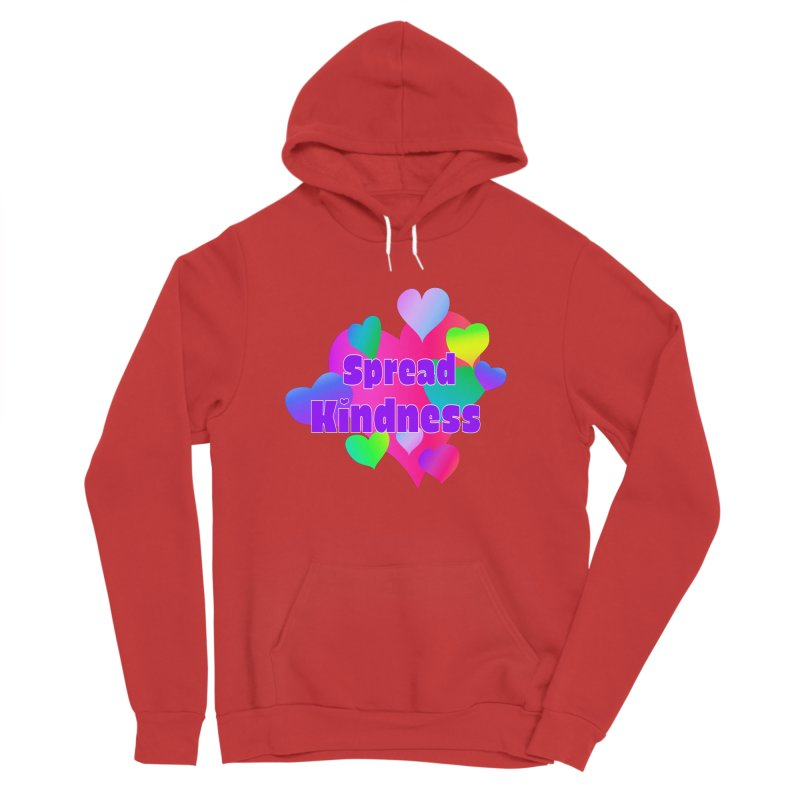 Spread Kindness - Apparel Men's Pullover Hoody by buxmontweb's Artist Shop