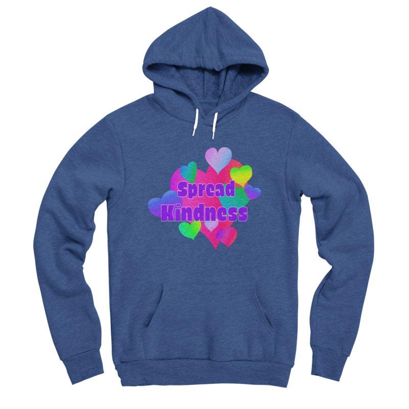 Spread Kindness - Apparel Men's Sponge Fleece Pullover Hoody by buxmontweb's Artist Shop