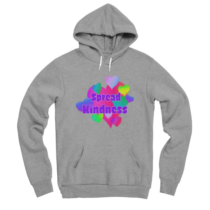 Spread Kindness - Apparel Men's Sponge Fleece Pullover Hoody by buxmontweb's Artist Shop